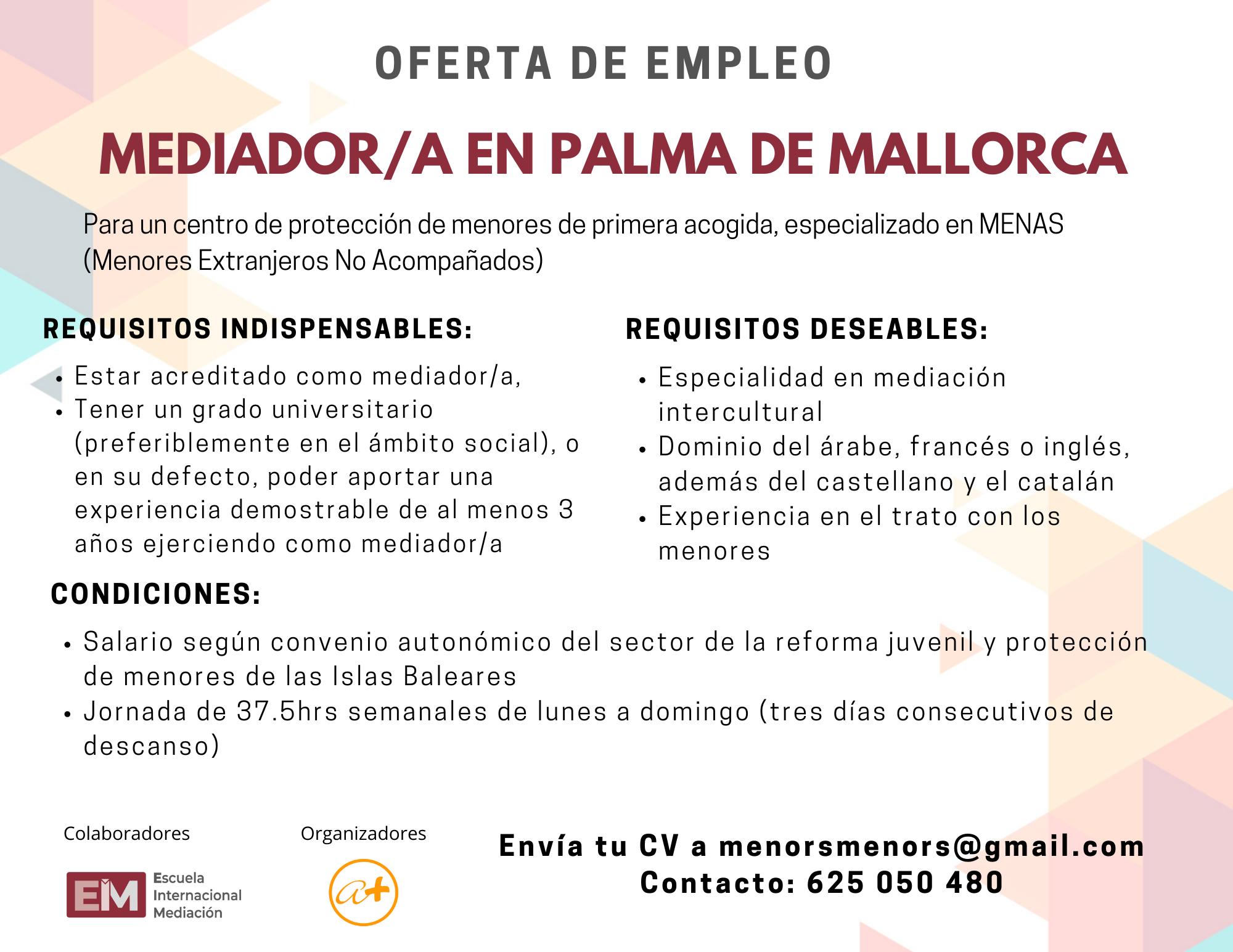 Oferta Empleo Ames Mallorca