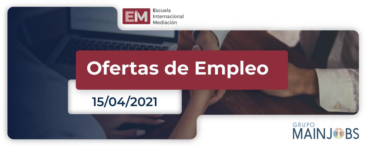 ofertas de empleo del 8 al 15 de abril 1 1