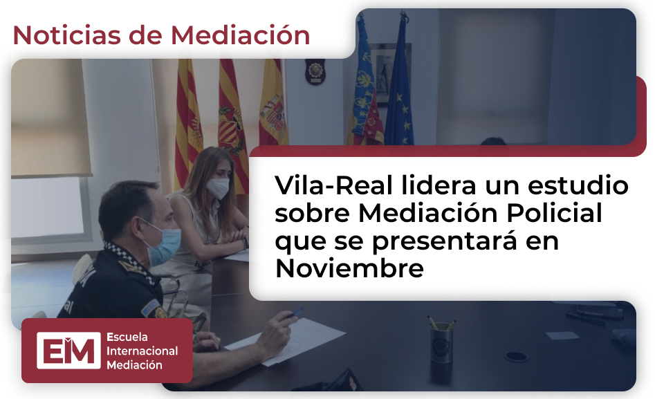 Vila Real Lidera Un Estudio Sobre Mediacion Policial
